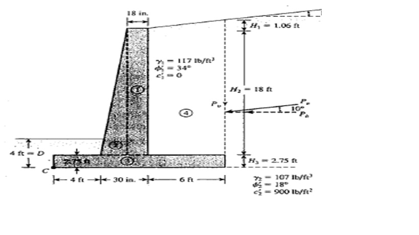 Design Retaining Wall design retaining wall Retaining Wall Design Calculation Example